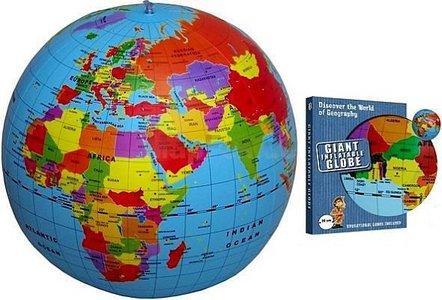 Opblaasbare wereldbol - Maxi Globe