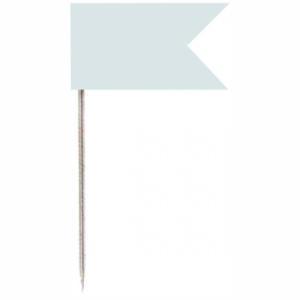 Vlaggenspelden Wit 20st Alco 710