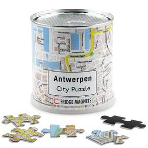 Antwerpen city puzzel magnetisch