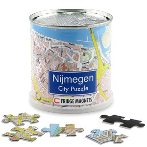 Nijmegen city puzzel magnetisch