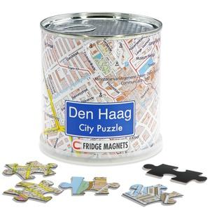 Den Haag city puzzel magnetisch