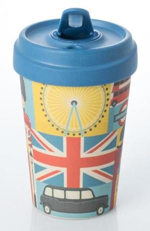 London Sights Bamboo cup