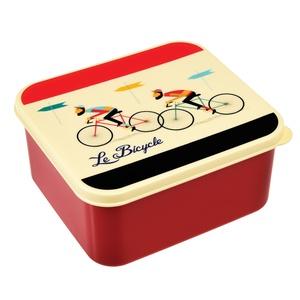 "Lunch trommel design ""Le Bicycle"""