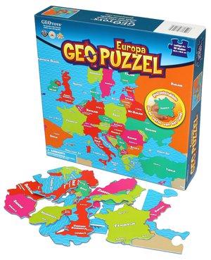GeoPuzzle Europa 58 stukken (NL) 483 x 406 mm