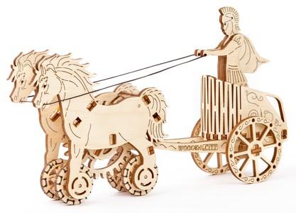 Romeinse strijdwagen 3D puzzel
