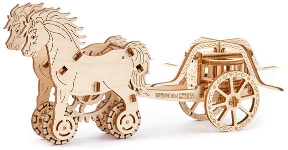 Chariot Da Vinci 3D puzzel