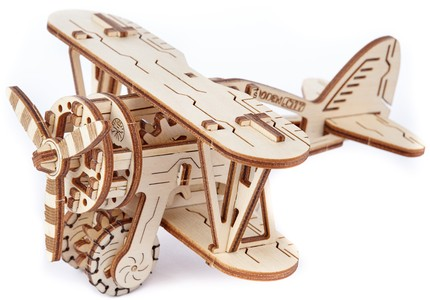 Vliegtuig 3D puzzel