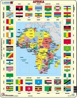 Puzzel Afrika Larsen Kl9