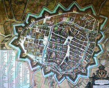 Groeninga / Groningen 1649