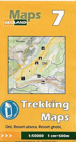 Geoland Trekking Map 7 Oni, Resort Ghebi