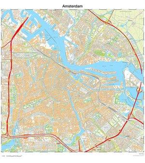 Amsterdam 1:10d Met Dam In Het Midden