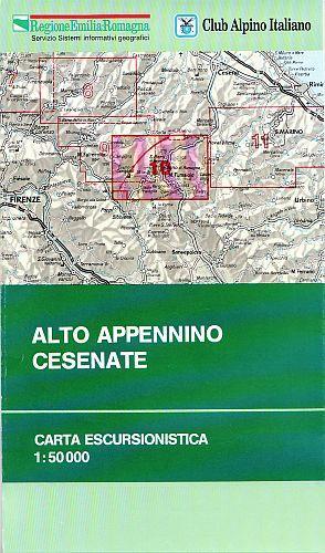 Alto Appennino Cesenate 1:50.000
