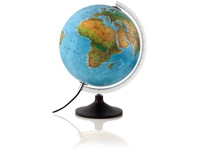 Globe Solid Blue NL 30cm Verlicht Atmosphere Globe
