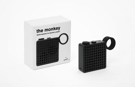 The Monkey Radio/Speaker - Black