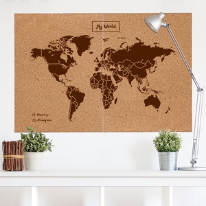Woody map XXlarge bruin 120 x 90cm