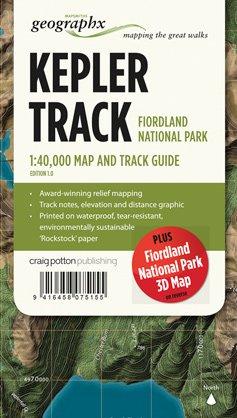 Kepler Track Fiordland Np 1:40d