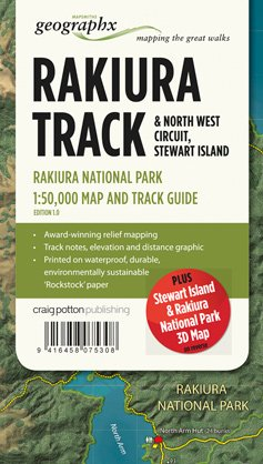 Rakiura Track Np 1:50.000