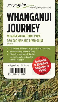 Whanganui Journey Np 1:50.000 Waterproof
