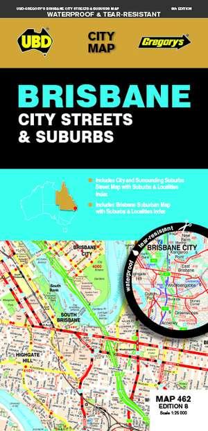Brisbane City Streets & Suburbs