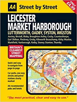Leicester Market Harborough Street Atlas