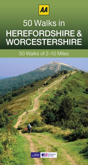 50 Walks In Herefordshire & Worcestershire