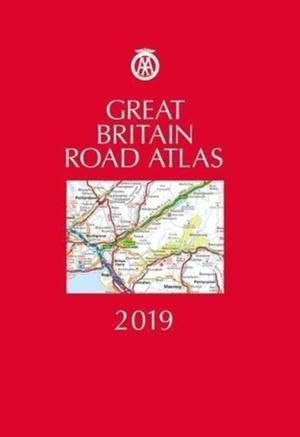 Aa Great Britain Road Atlas 2019