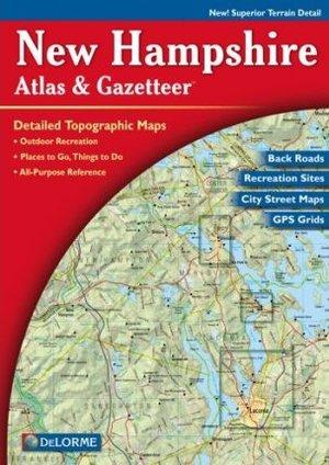 New Hampshire Atlas & Gazetteer Delorme