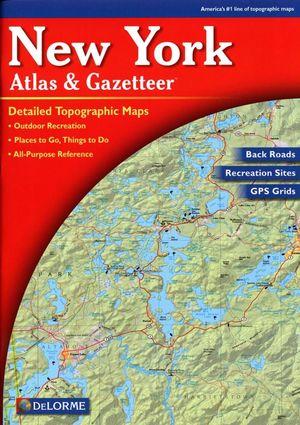 New York State Atlas & Gazetteer Delorme