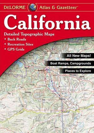 California Atlas & Gazetteer Delorme