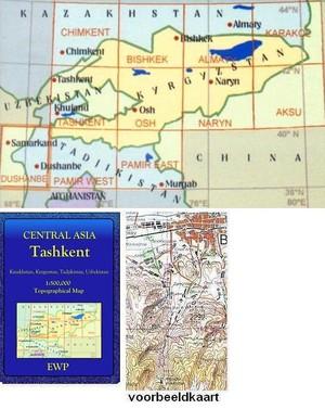 Tashkent 1:500.000 Ewp Central Asia