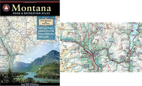 Montana Benchmark Road & Recr Atlas