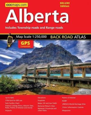 Alberta Road Atlas Mapart