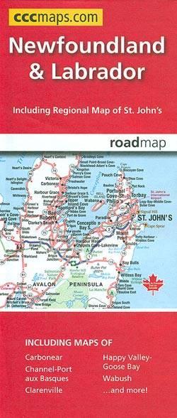 Newfoundland & Labrador Mapart