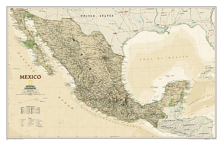 Mexico Executive, Laminated