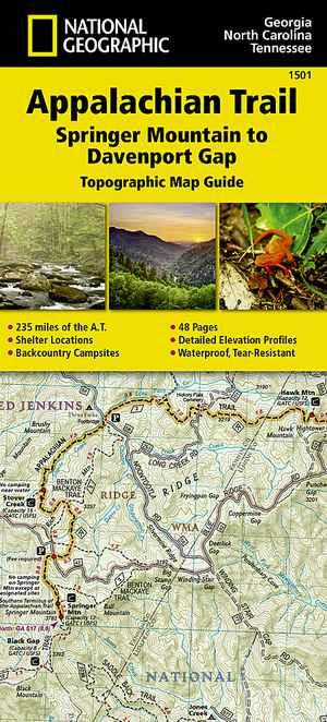 Appalachian Trail - Springer Mt-Davenport Gap