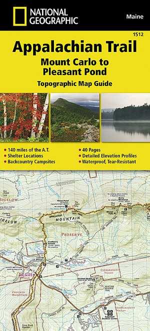 Appalachian Trail - Mt Carlo-Pleasant Pond /ME