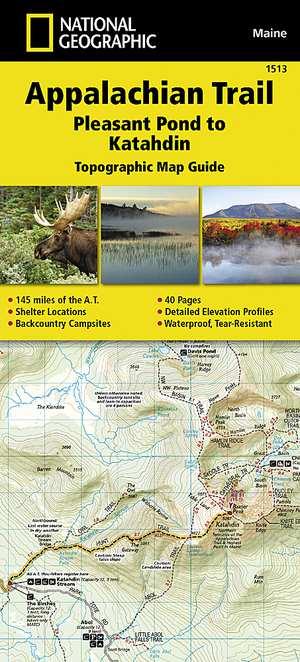 Appalachian Trail - Pleasant Pond-Katahdin /ME