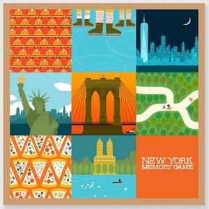 New York Memory Game