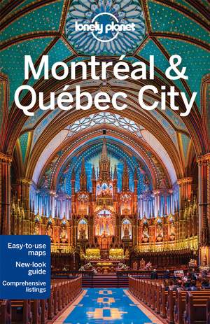 Lonely Planet Montreal & Quebec City dr 4