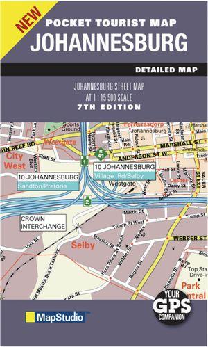 Pocket Tourist Map Johannesburg