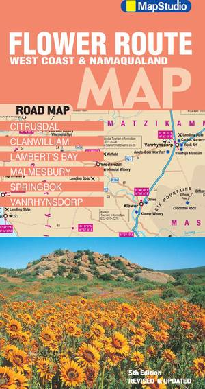 Flower Route West Coast & Namaqualand Road Map