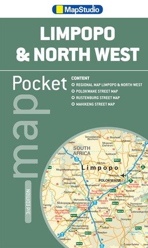 Pocket Tourist Map Limpopo & North West