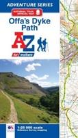Offa's Dyke Path Adventure Atlas for walkers