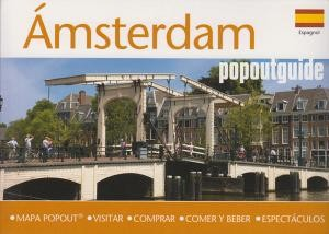 Amsterdam Popout Guide Spanish