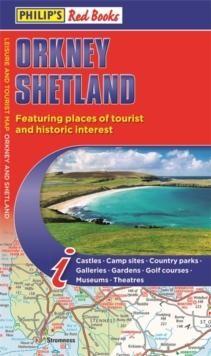 Philip's Orkney And Shetland landkaart