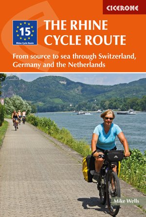 Rhine cycle route from source to Sea through CH,DE & NL