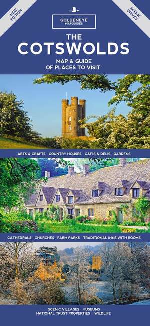 Cotswolds Map & Guide
