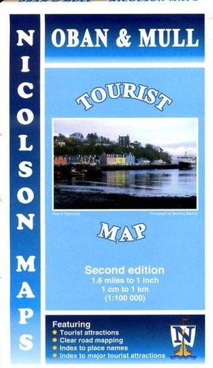 Oban & Mull Tourist Map