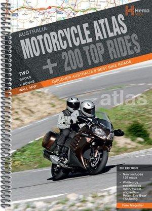Australia Motorcycle Atlas + 200 Rides