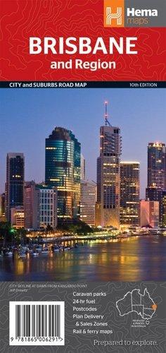 Brisbane City & Region Handy Hema Map